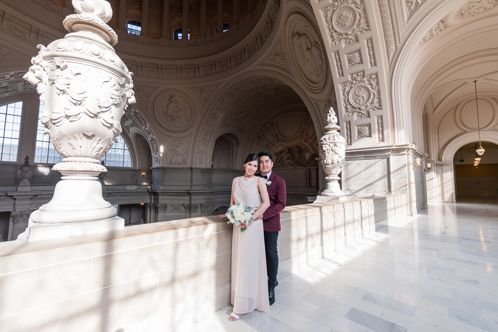 couple got married at San Francisco city hall
