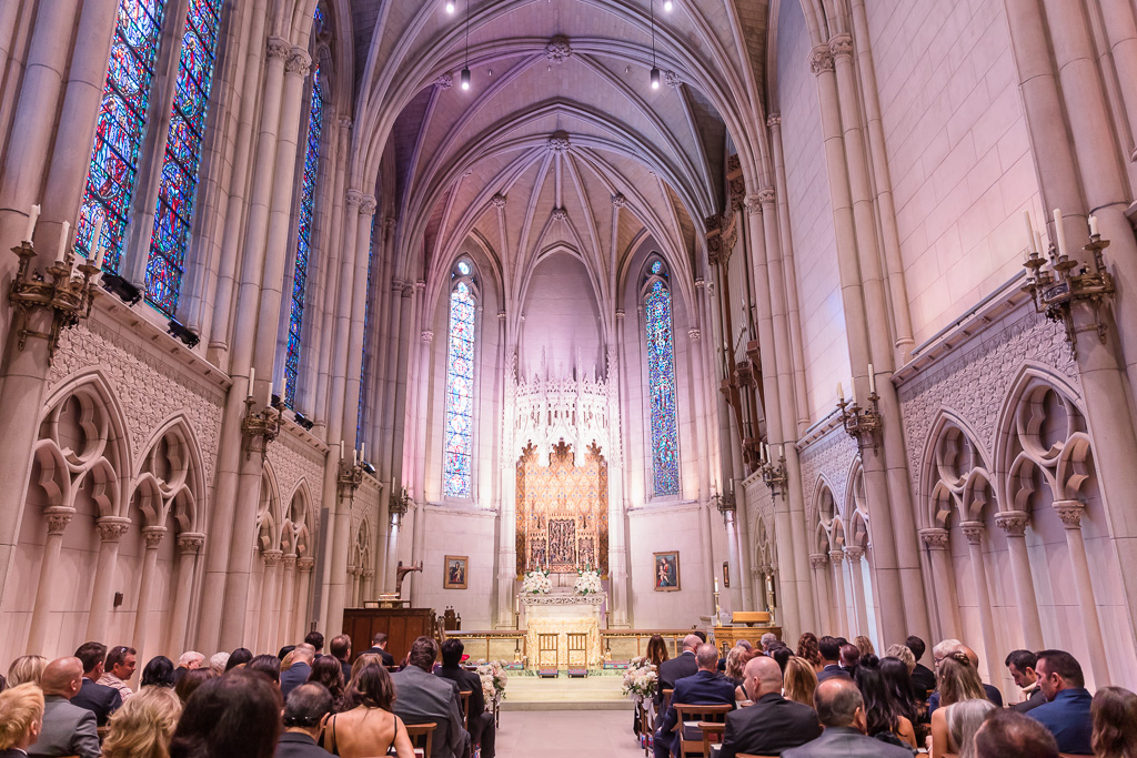 inside of the Grace Cathedral