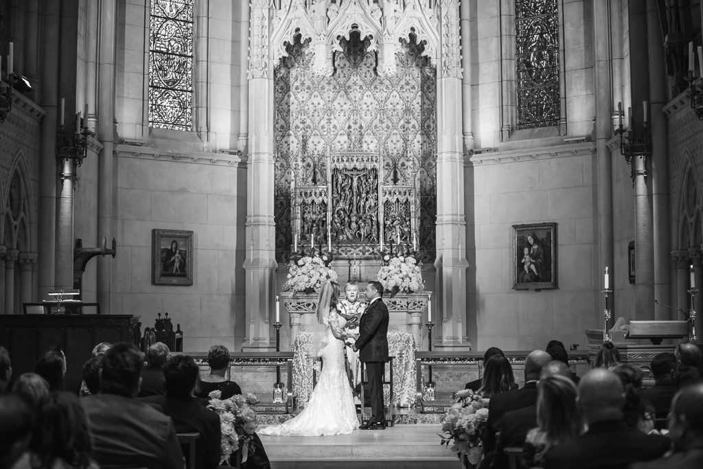 Grace Cathedral wedding ceremony