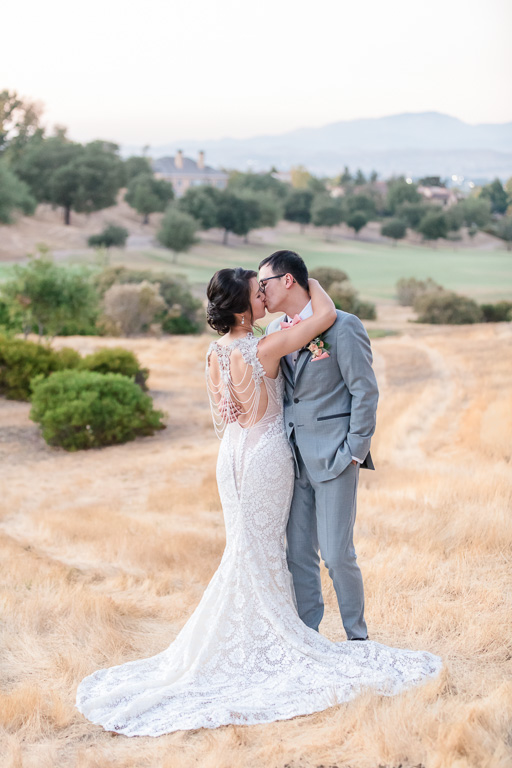 romantic Ruby Hill Golf Club wedding