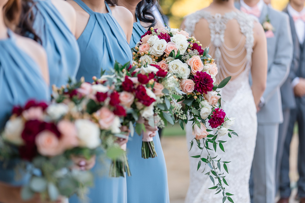 bouquets during this ceremony