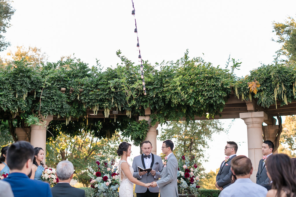 Ruby Hill wedding ceremony