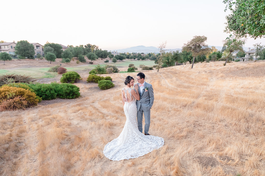 Ruby Hill Golf Club wedding in a luxurious galia lahav wedding gown