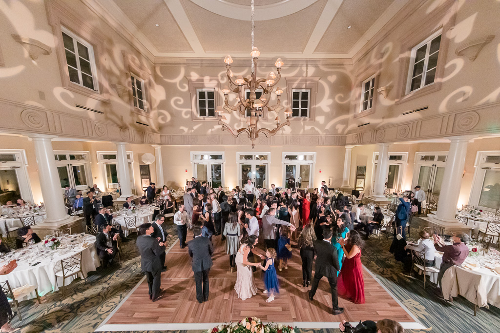 a packed dance floor at this Ruby Hill wedding