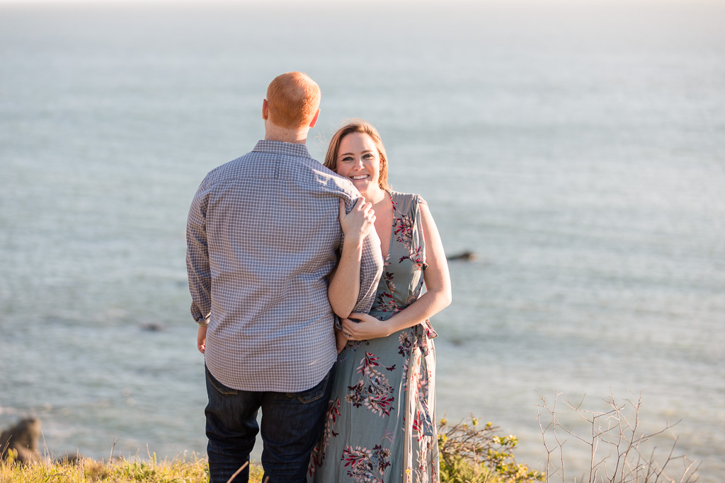 couple portrait for save-the-date card