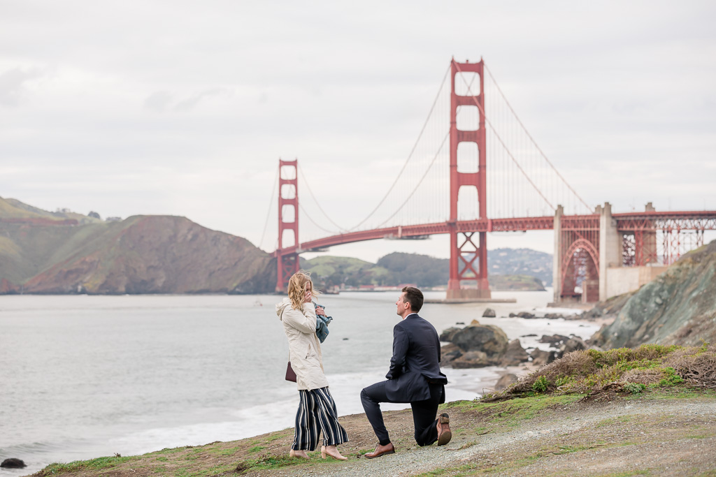 San Francisco Golden Gate Bridge surprise proposal