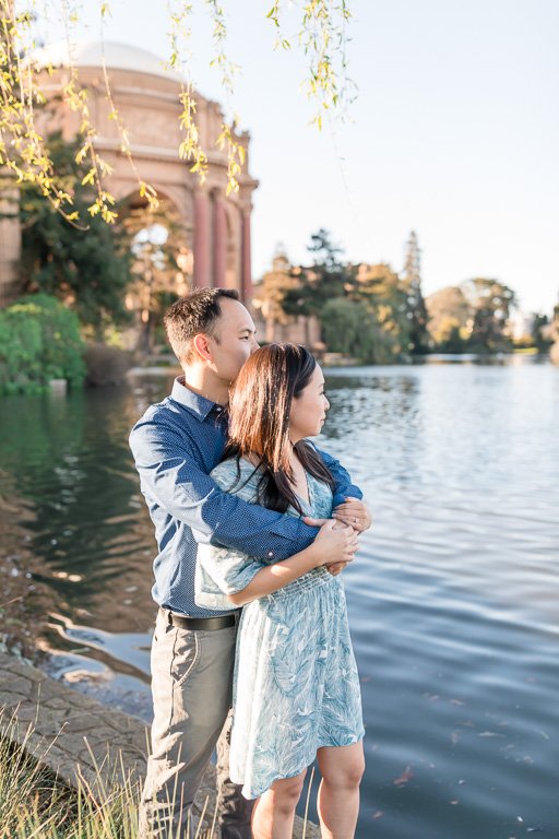 Palace of Fine Arts save the date picture