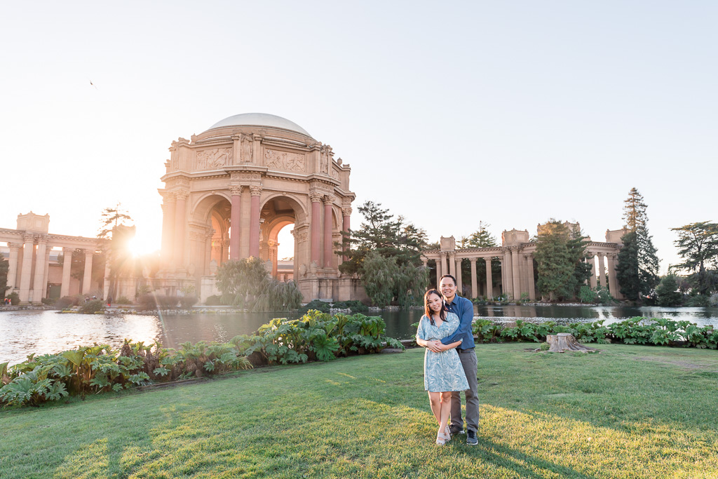 iconic engagement location in San Francisco