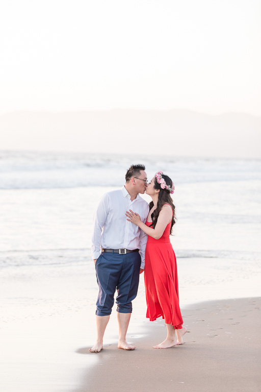 Ocean Beach engagement session