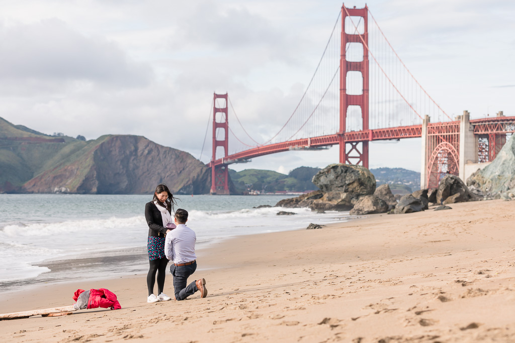 best iconic spot to propose in San Francisco