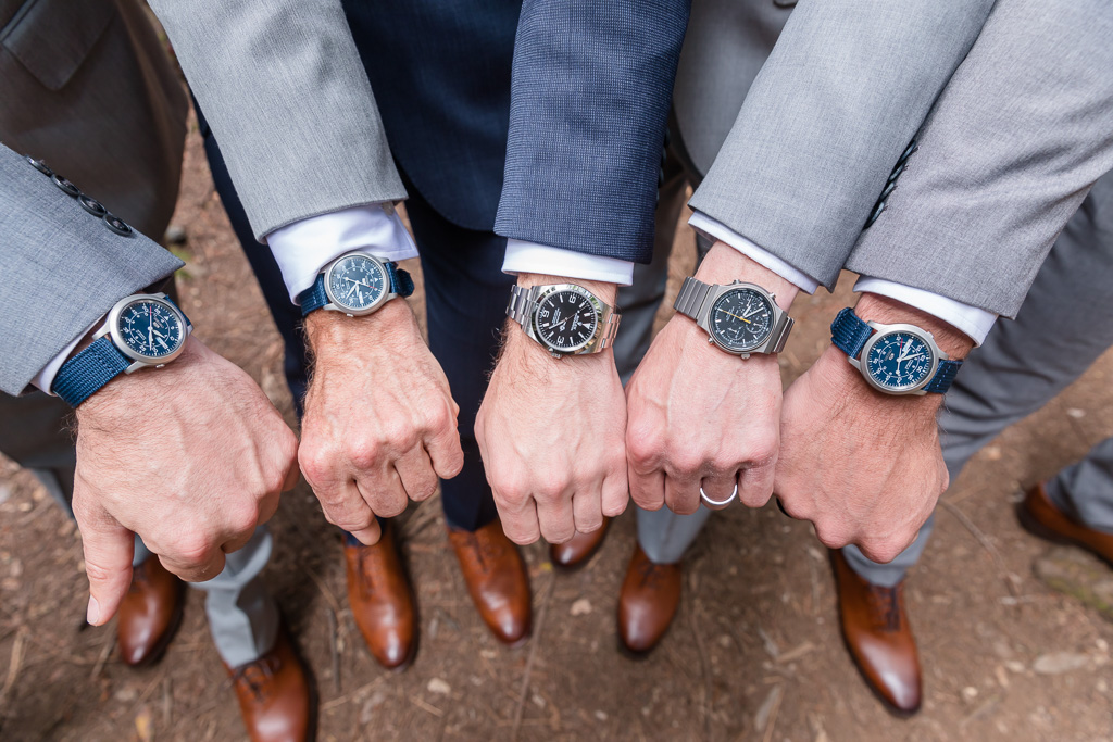 everyone in groom's tribe has the same watch
