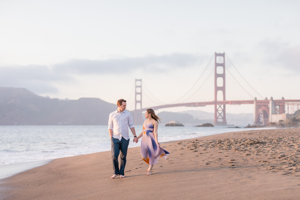 San Francisco iconic location for engagement and family photos