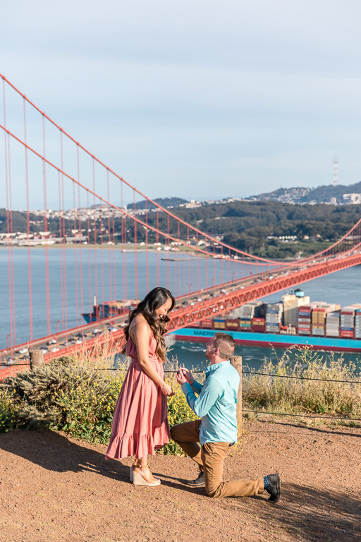best location to propose in San Francisco