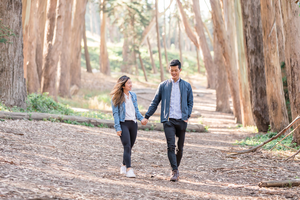 Andy Goldworthy's Wood Line surprise engagement