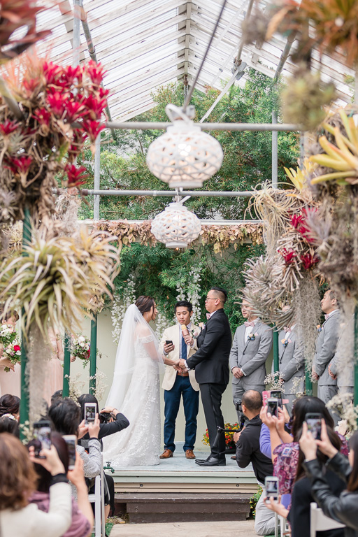 Pacifica orchid gardens wedding