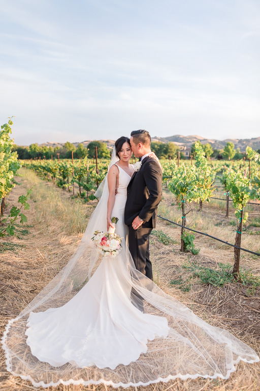 glamorous Casa Real wedding in the vineyards