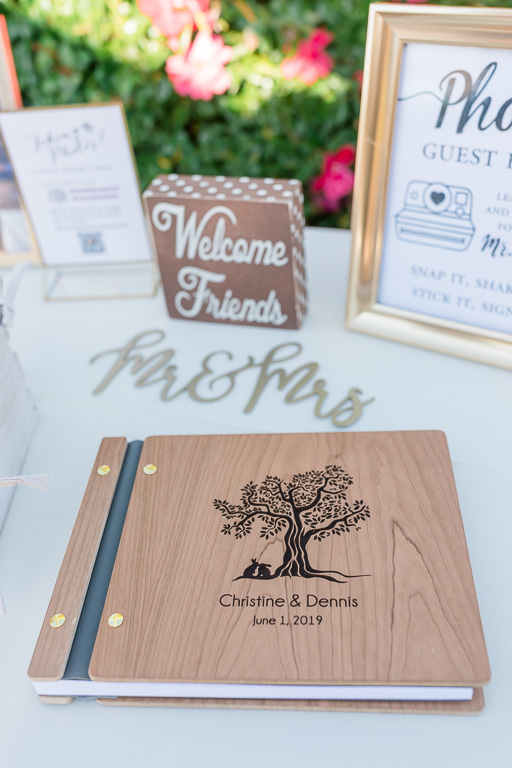 wedding sign-in book