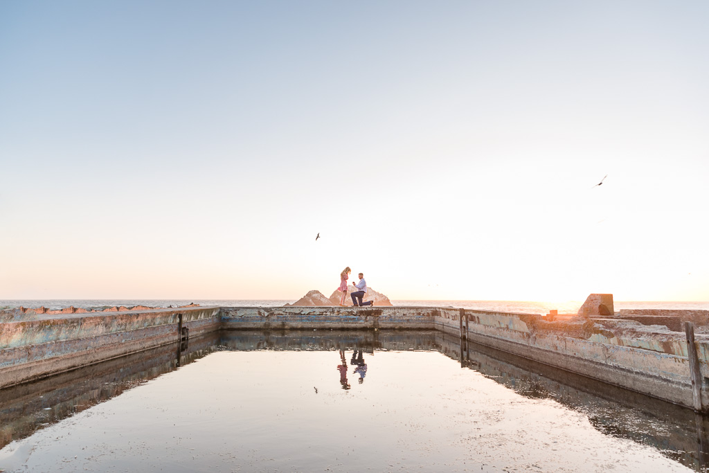 the most romantic location in San Francisco for a surprise proposal