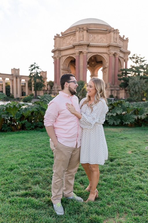they just got engaged