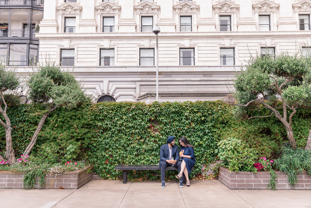 Fairmont San Francisco provides the most beautiful backdrop for photos