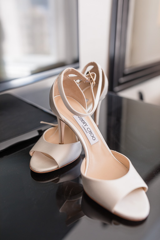 simple bridal shoes