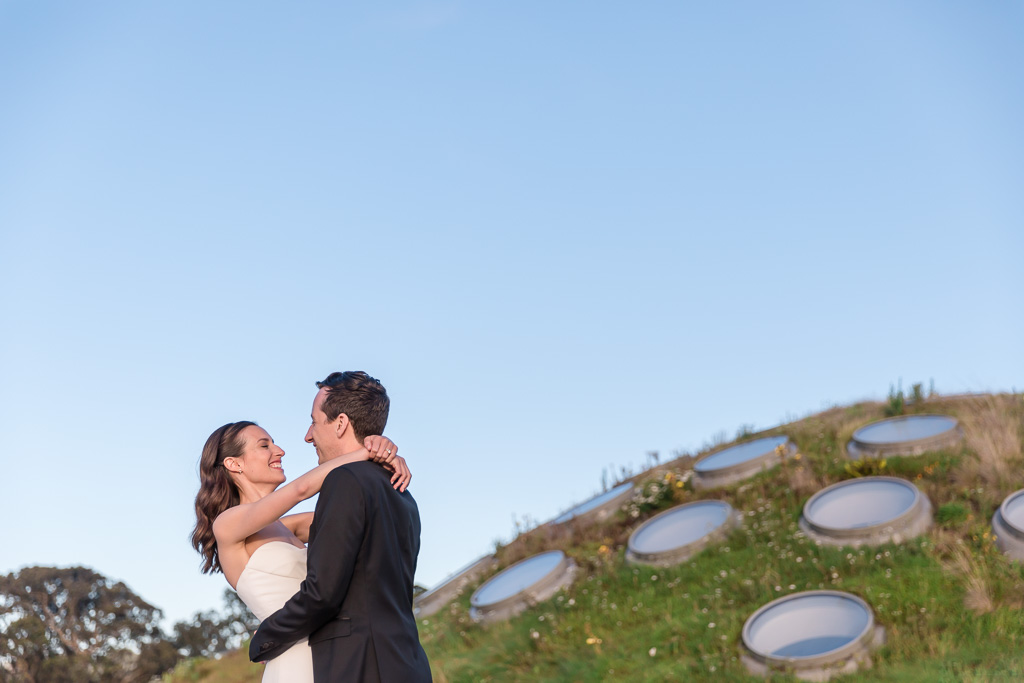 California Academy of Sciences wedding