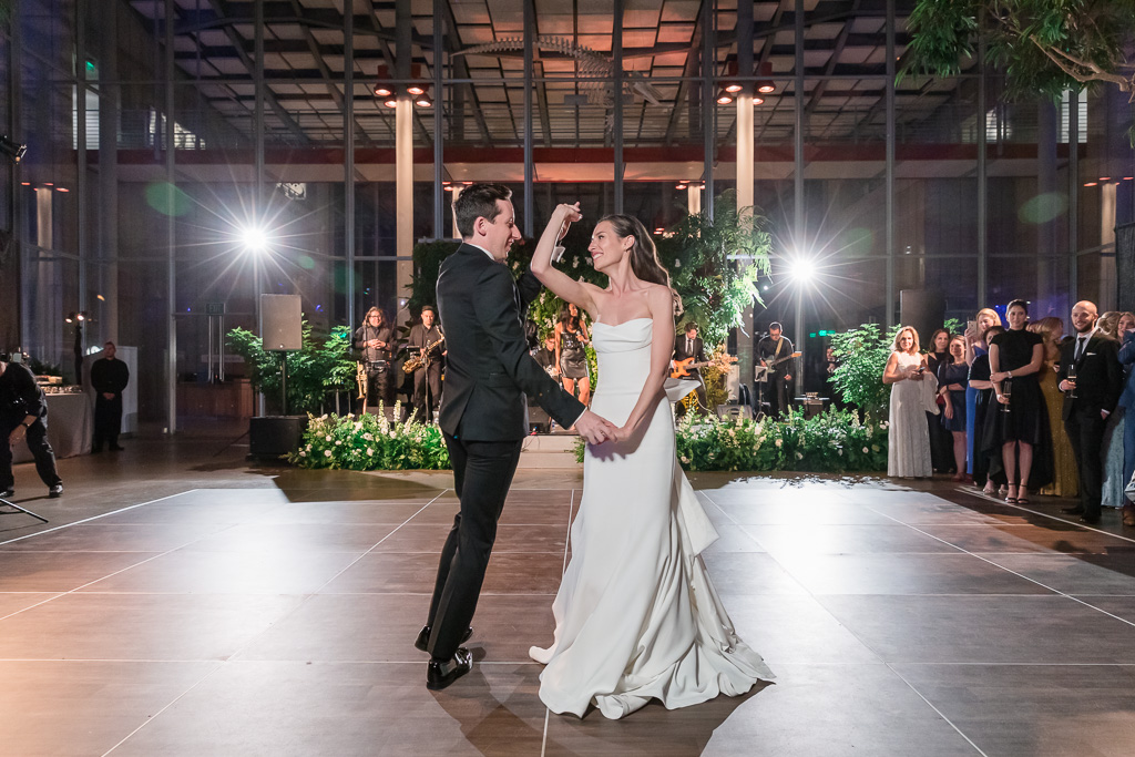 first dance in the museum