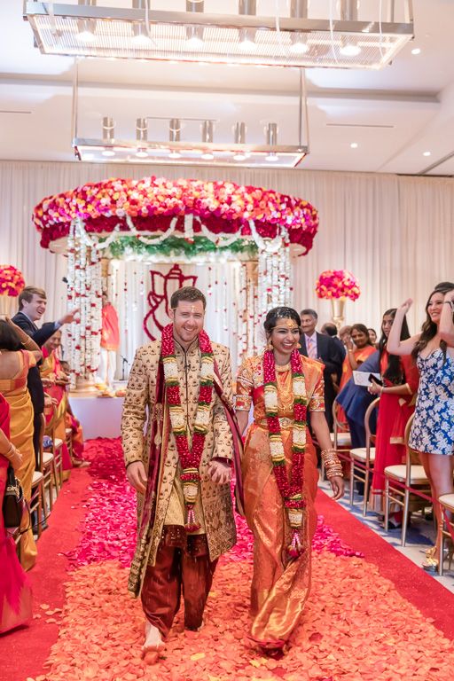 Indian ceremony recessional