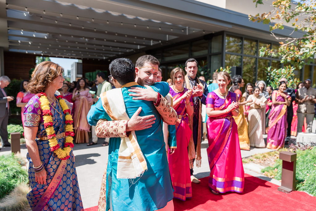 welcoming ceremony after the baraat
