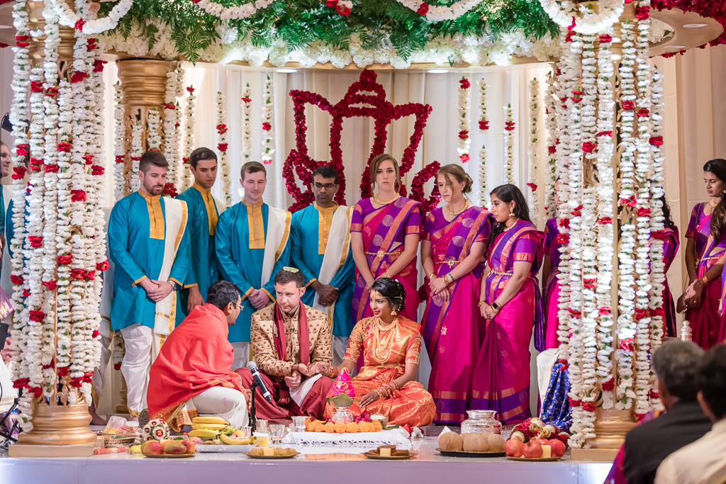 Indian traditional ceremony at Hotel Nia