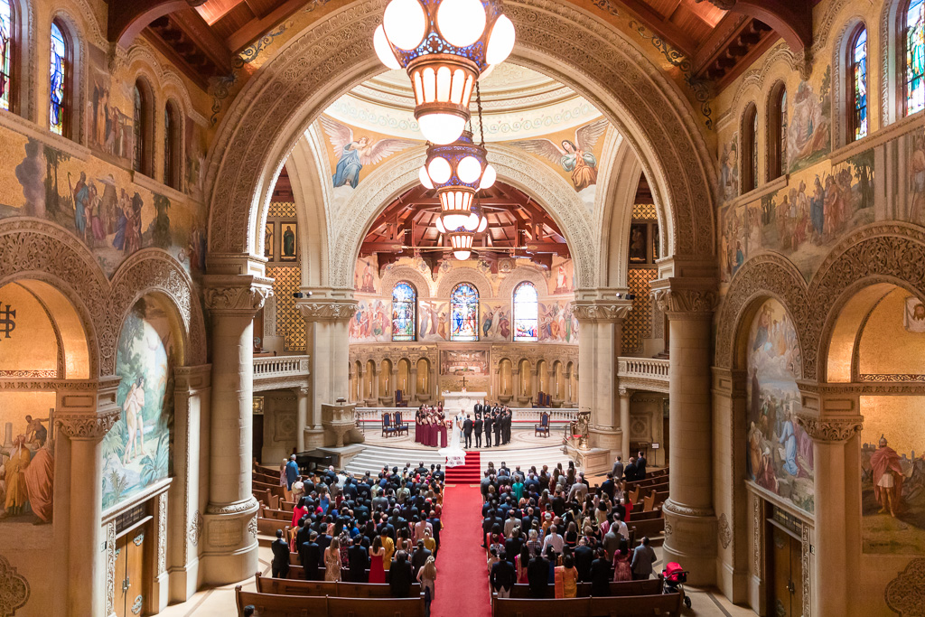magnificent Stanford Memorial Church for a wedding ceremony