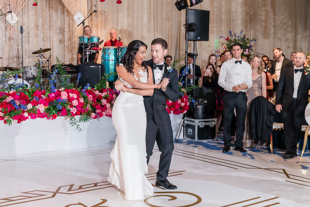 couple's cute first dance