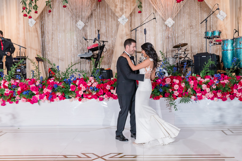 first dance together as husband and wife