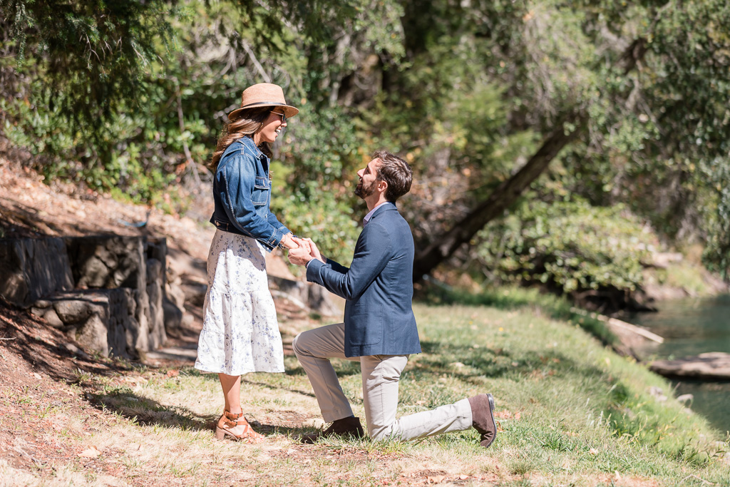 Calistoga winery surprise proposal