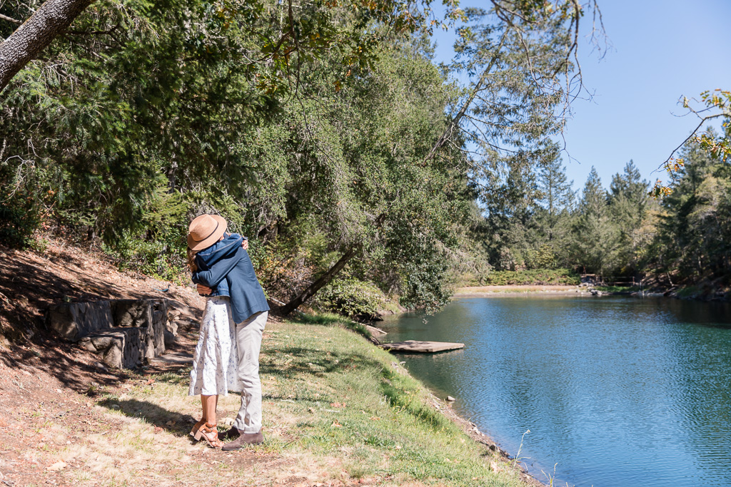 Calistoga winery surprise engagement proposal