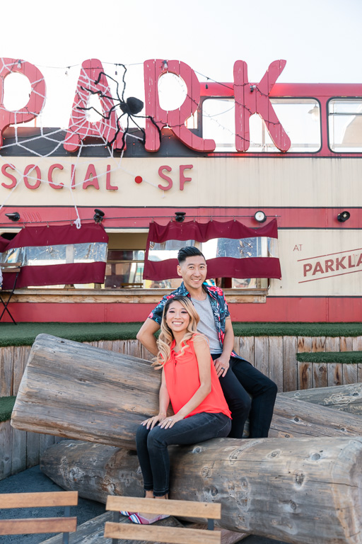 Spark Social SF engagement photo