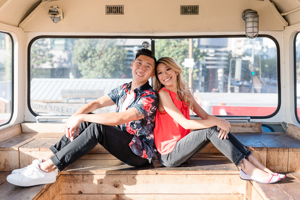 food truck park engagement photo