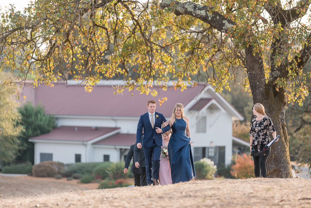 groom and mother's processional