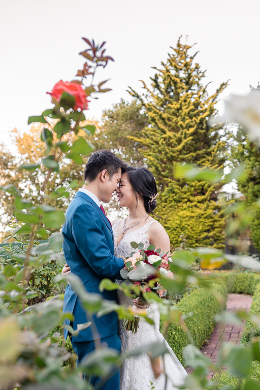 Bay Area outdoor garden wedding