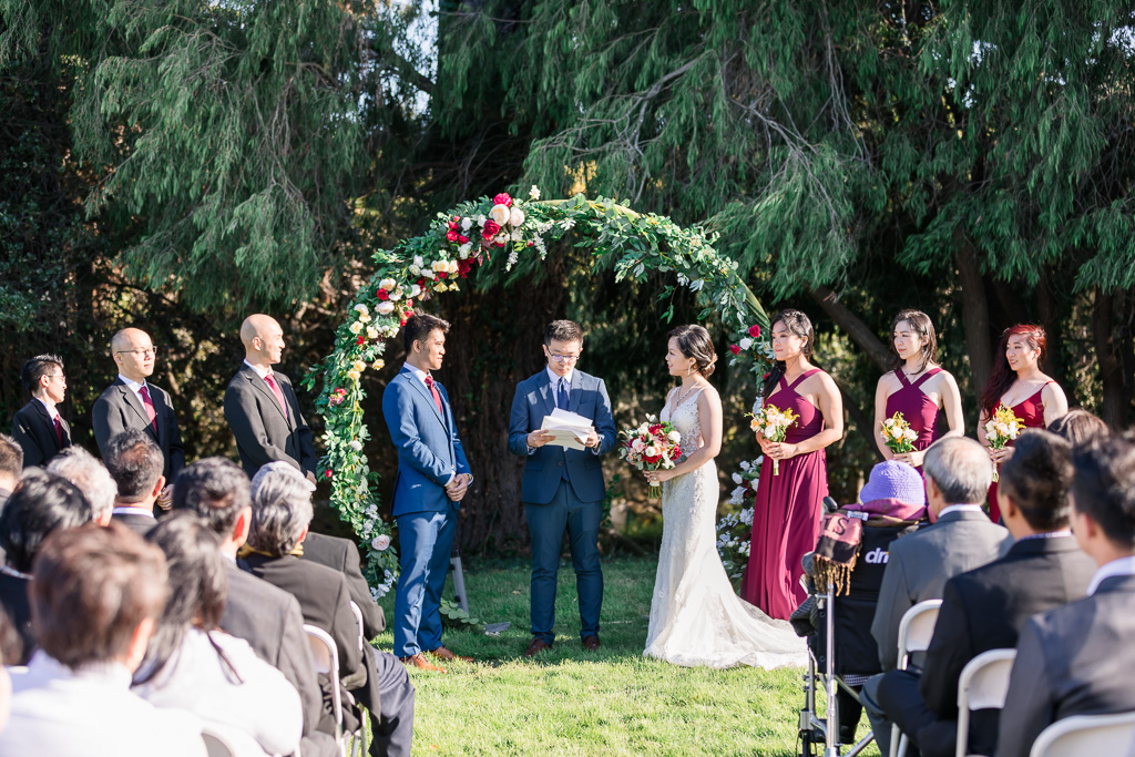Kohl Mansion wedding ceremony