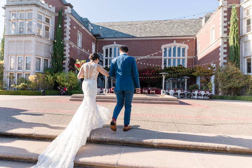 Bay Area beautiful mansion wedding