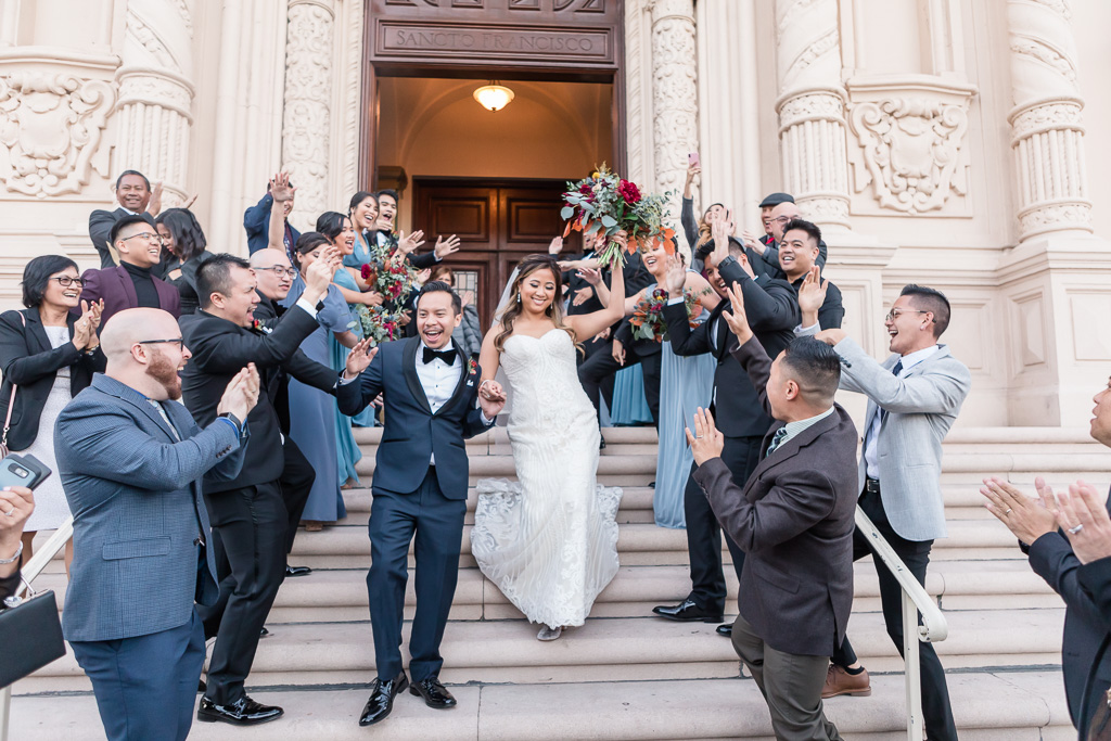 Mission Dolores Basilica church wedding
