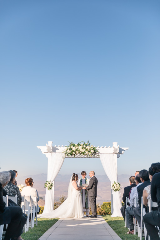 Willow Heights Mansion wedding ceremony