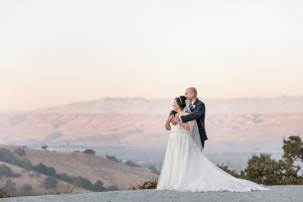 Morgan Hill Willow Heights romantic sunset portrait