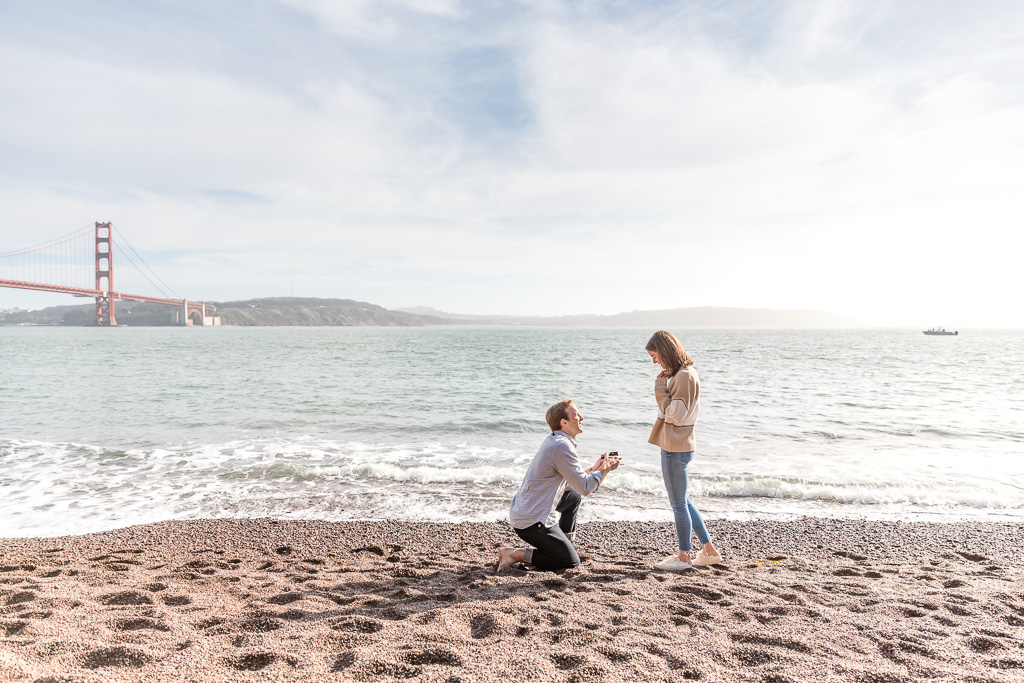 Kirby Cove surprise proposal