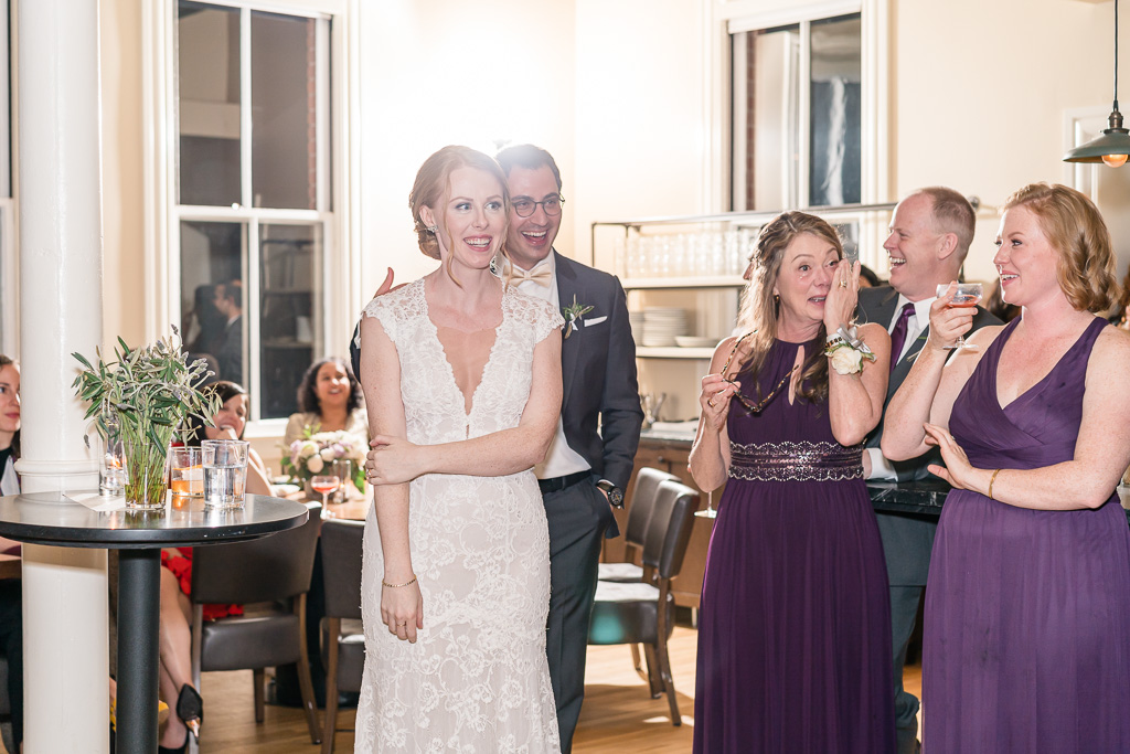 a heartfelt toast that got mother of the bride burst into tears