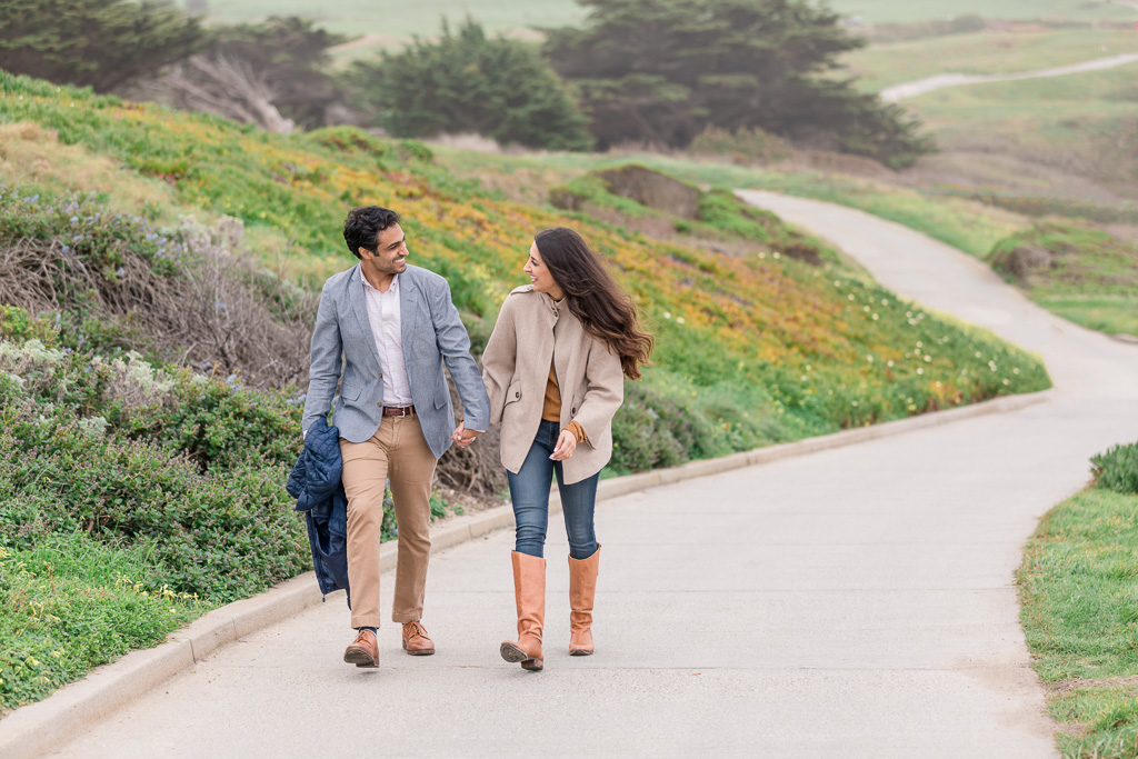 couple walking to Ritz Carlton, she did not expect proposal surprise number two