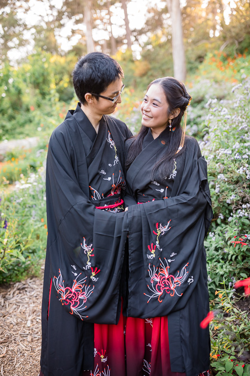 Bay Area Chinese couple engagement photo