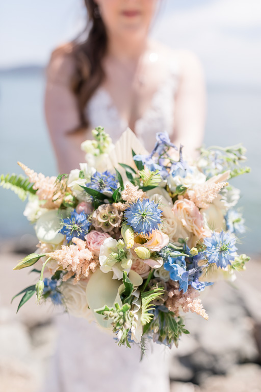 Sausalito waterfront wedding