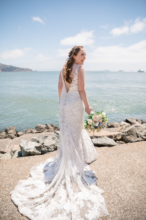 Marin waterfront wedding
